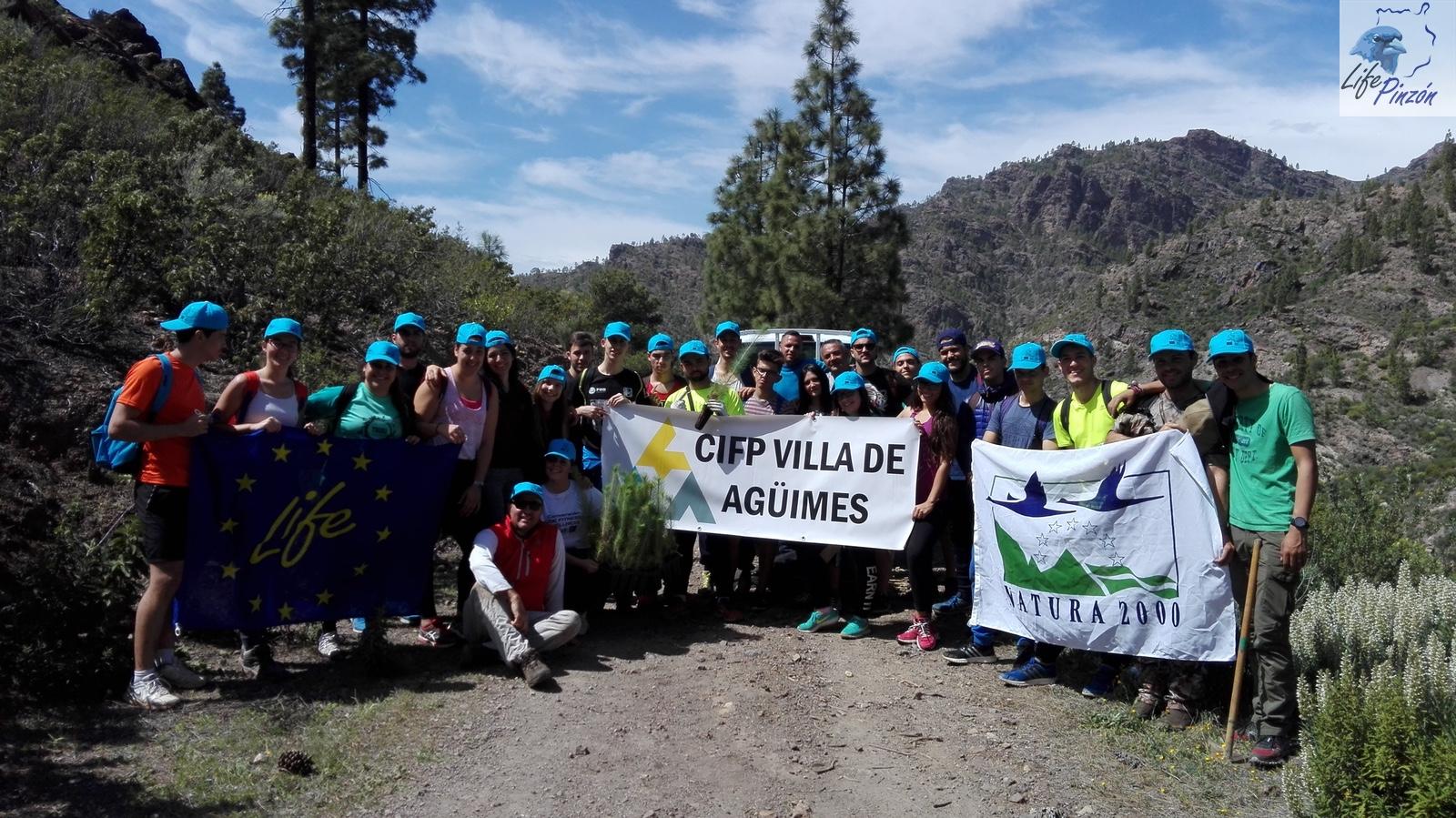 Voluntariado CIFP Villa de Agüimes6 y 13 Marzo 2017