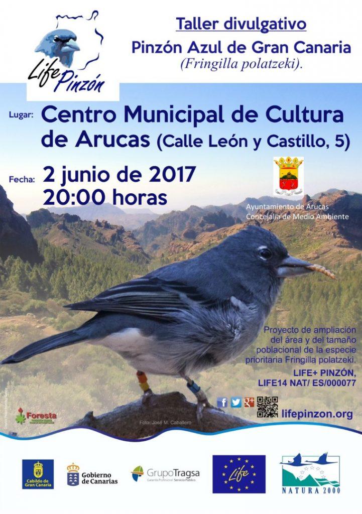 Taller divulgativo en Arucas en el Día Mundial del Medio Ambiente @ Centro Municipal de Cultura de Arucas