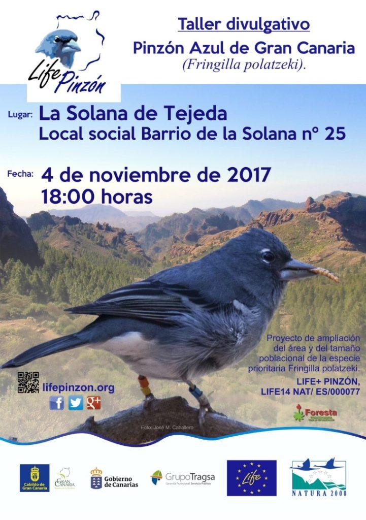 Taller divulgativo con la Asociación de vecinos Bentayga y La Higuerilla @ Local social Barrio de la Solana