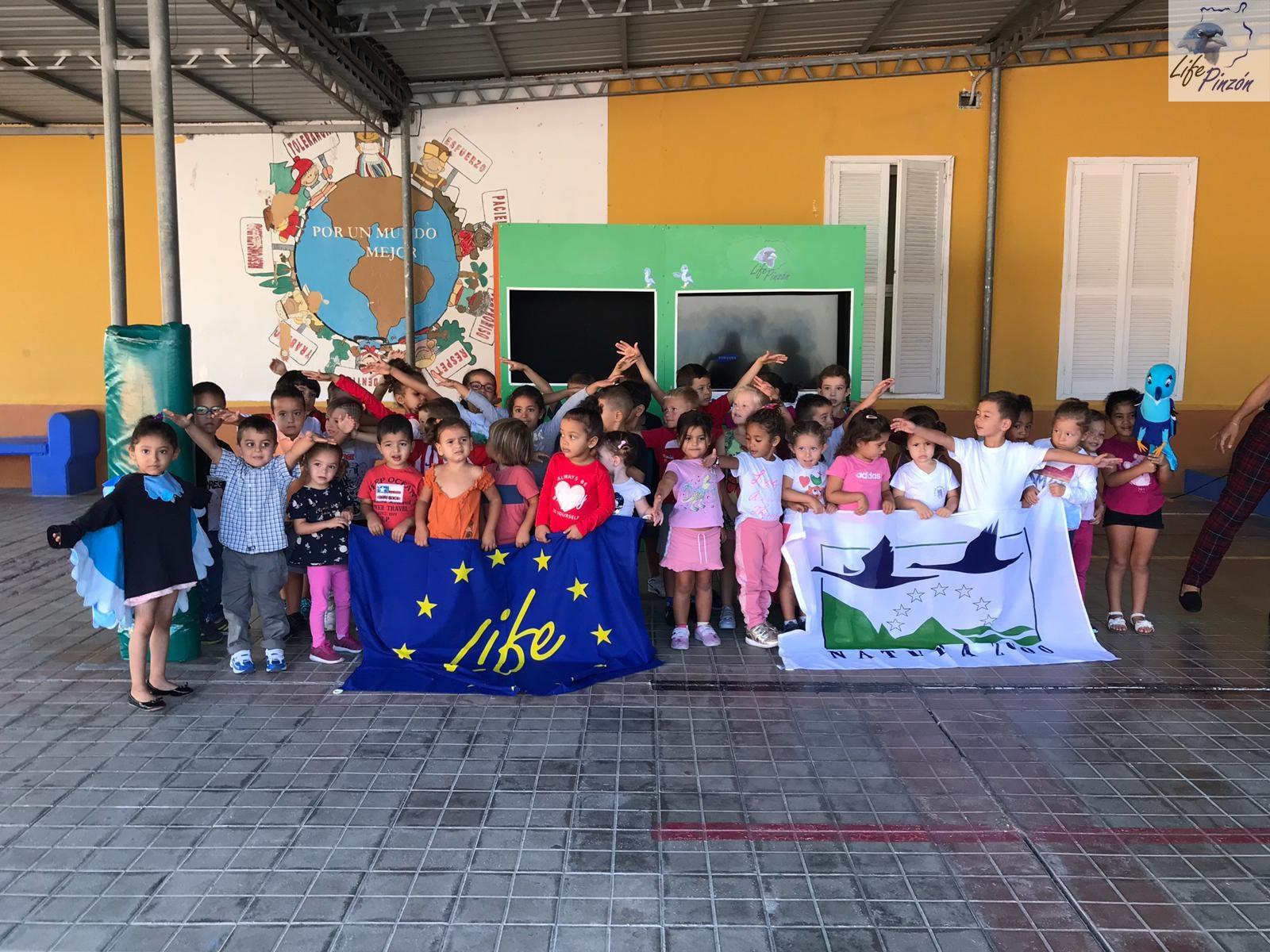 Títeres en el CEIP Artemi Semidán19 octubre 2018