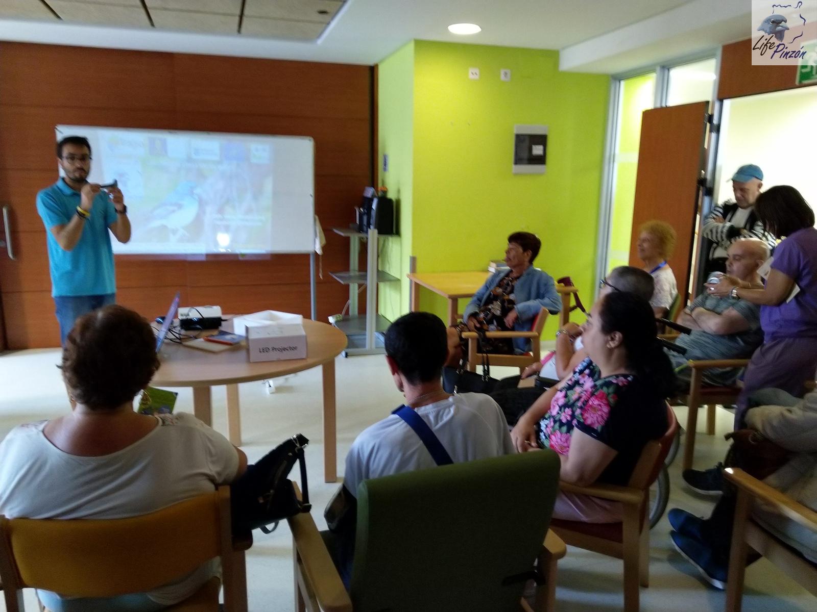 Divulgación con las Miniresidencias de El Pino5 de octubre