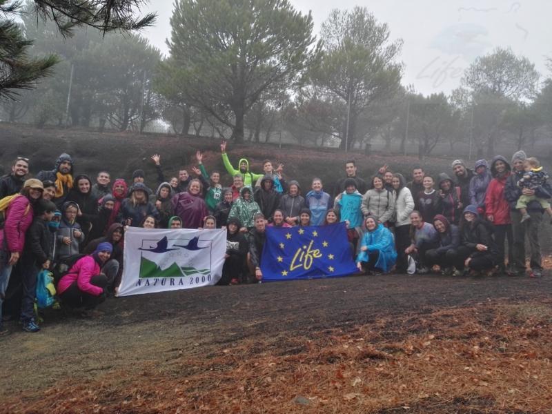 Voluntariado repoblación4 Noviembre 2017