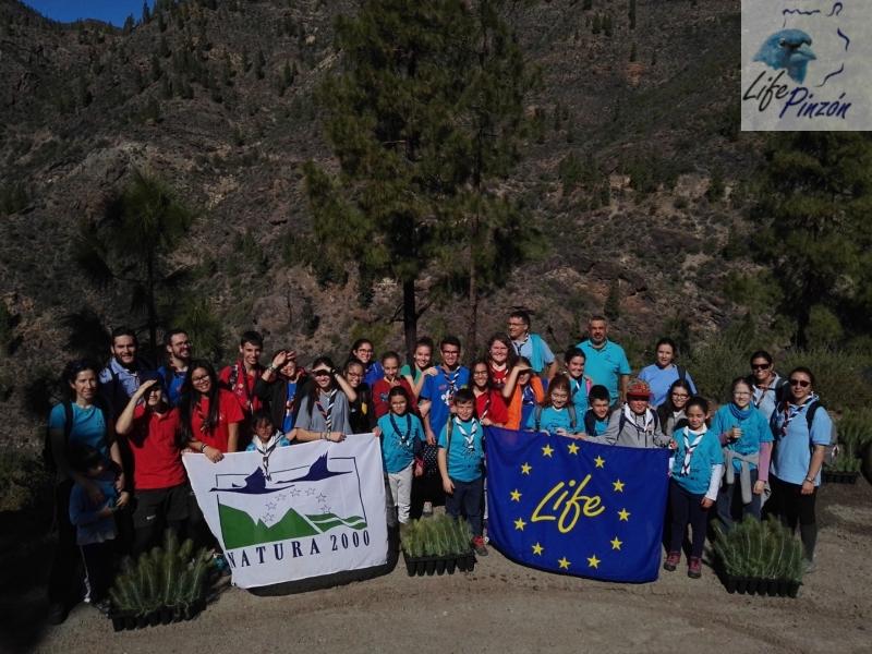 Voluntariado de Grupo Scout Atis Tirma20 Enero 2018