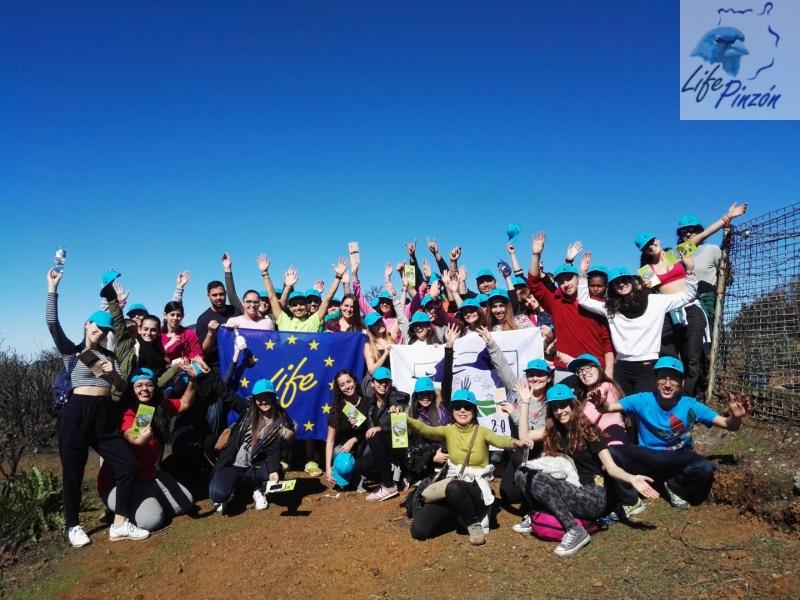 Voluntariado de IES San Cristóbal (Las Palmas)23 Enero 2018