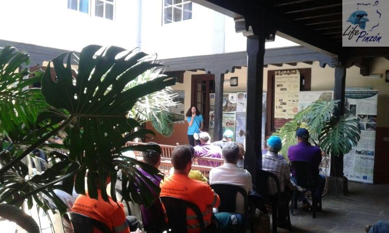 7. life pinzon azul Gran Canaria – dia del medioambiente