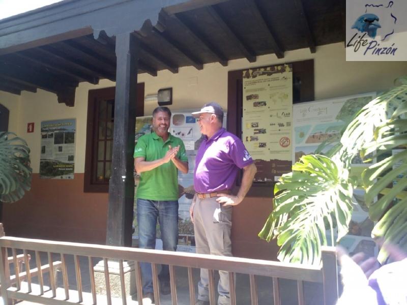 8. life pinzon azul Gran Canaria – dia del medioambiente