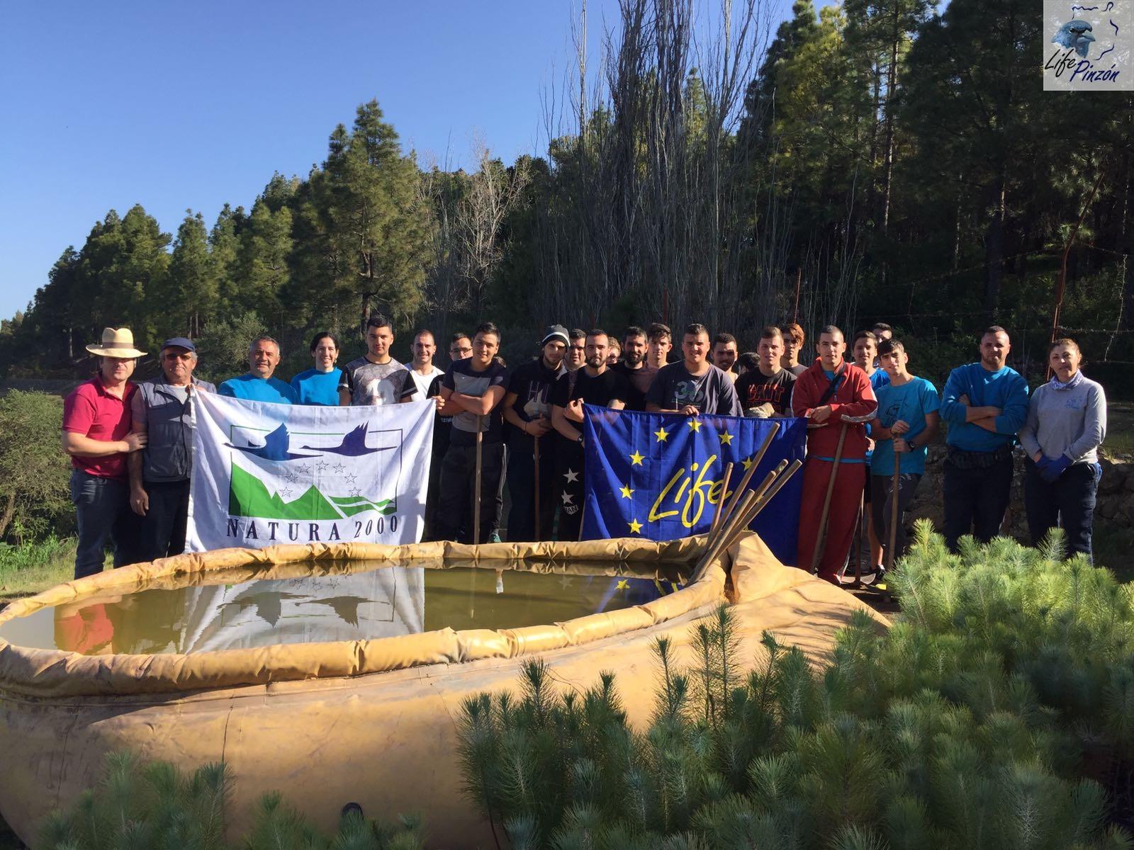 Prácticas del Ciclo Medio de Forestales IES Vega de San Mateo8 Marzo 2017