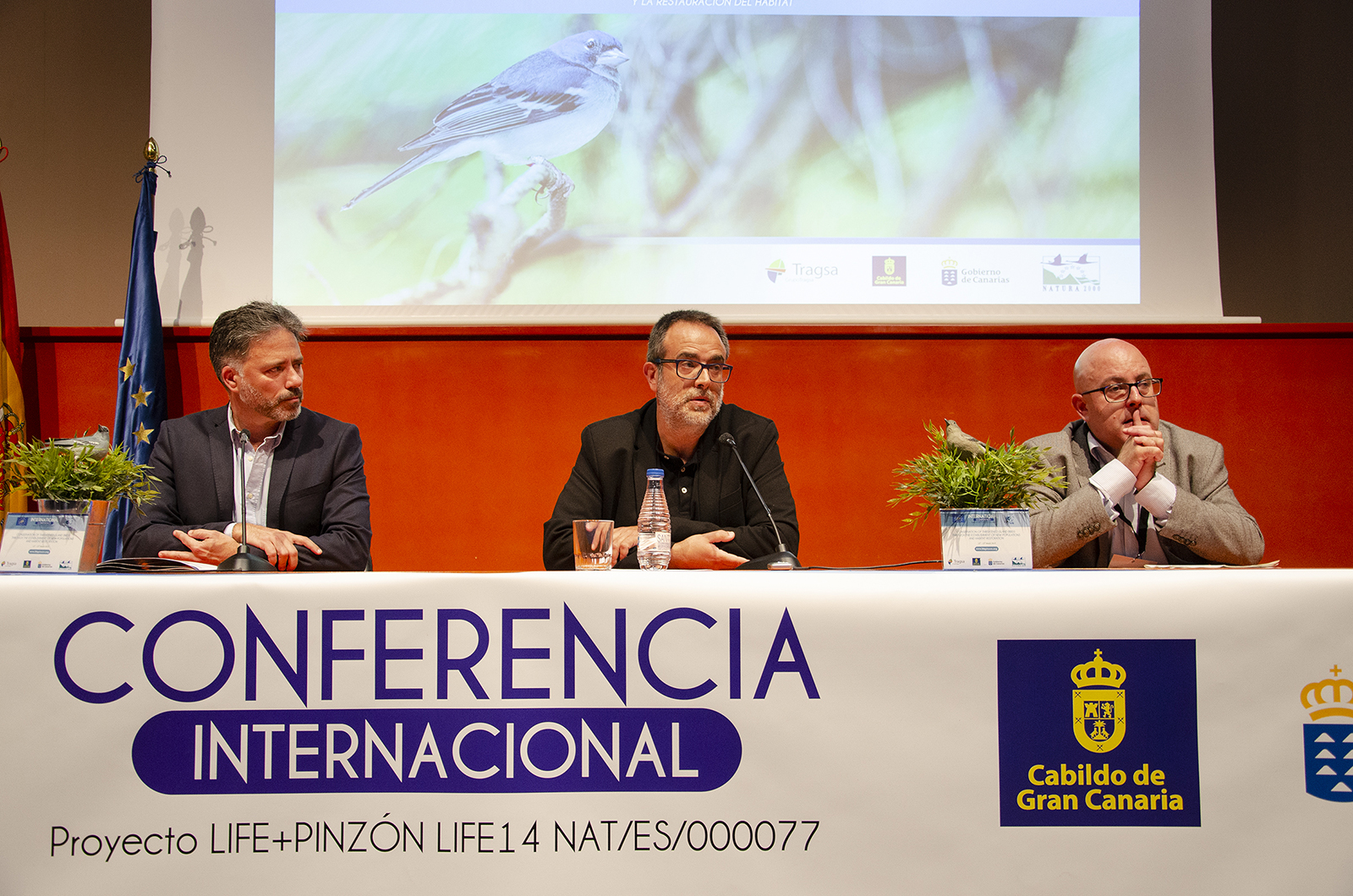 Conferencia Internacional Life+ Pinzón13 al 15 marzo 2019