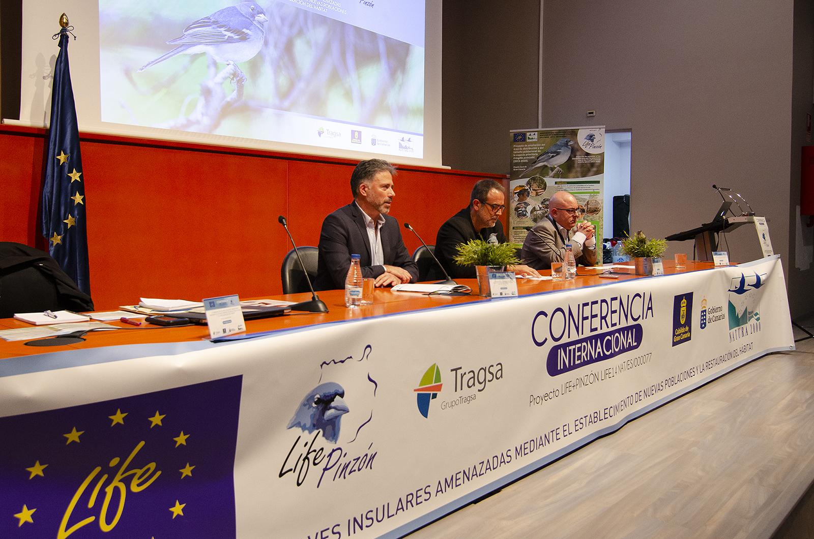 Inauguración Conferencia Internacional LIFE+Pinzón 2