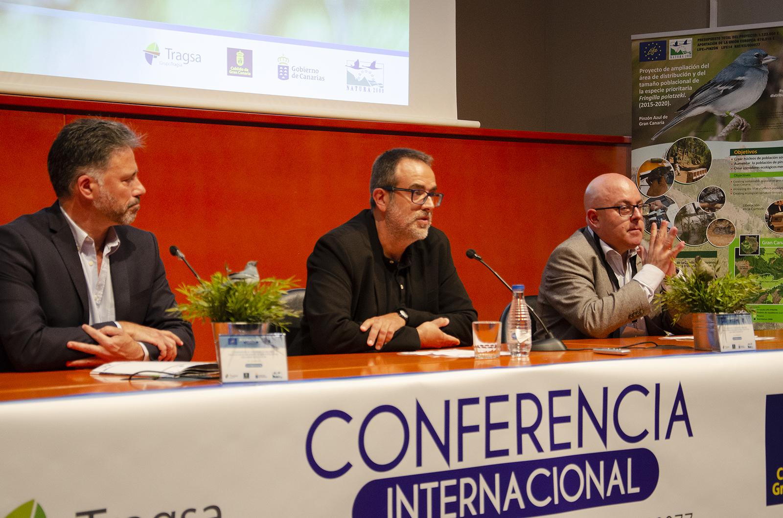 Inauguración Conferencia Internacional LIFE+Pinzón
