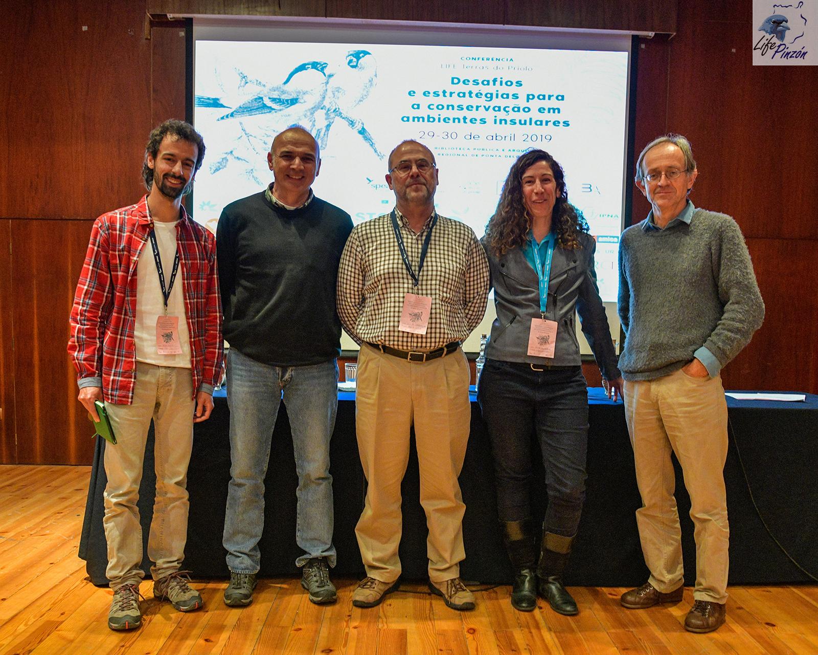 Grupo Canario, Conferencia Priolo, Azores, Mayo 2019-1